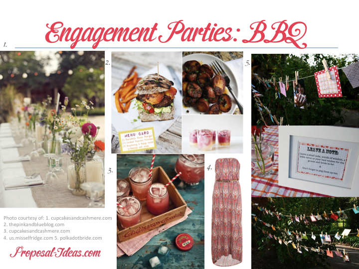 Life love engagment party on pinterest engagement for Backyard engagement party decoration ideas