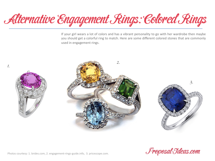 alternative bride for engagement rings the pin unconventional different stone
