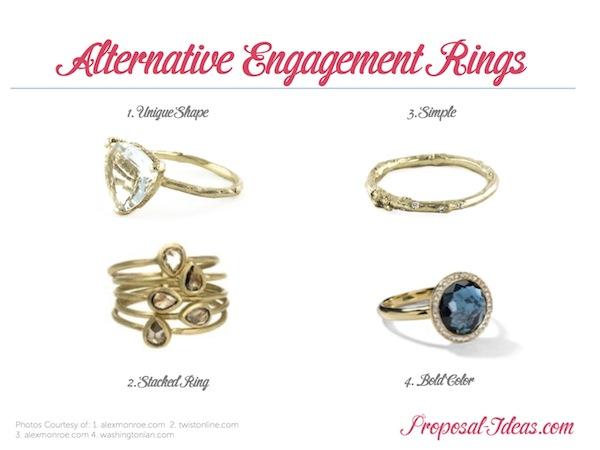 alternative engagement ring ideas ideas