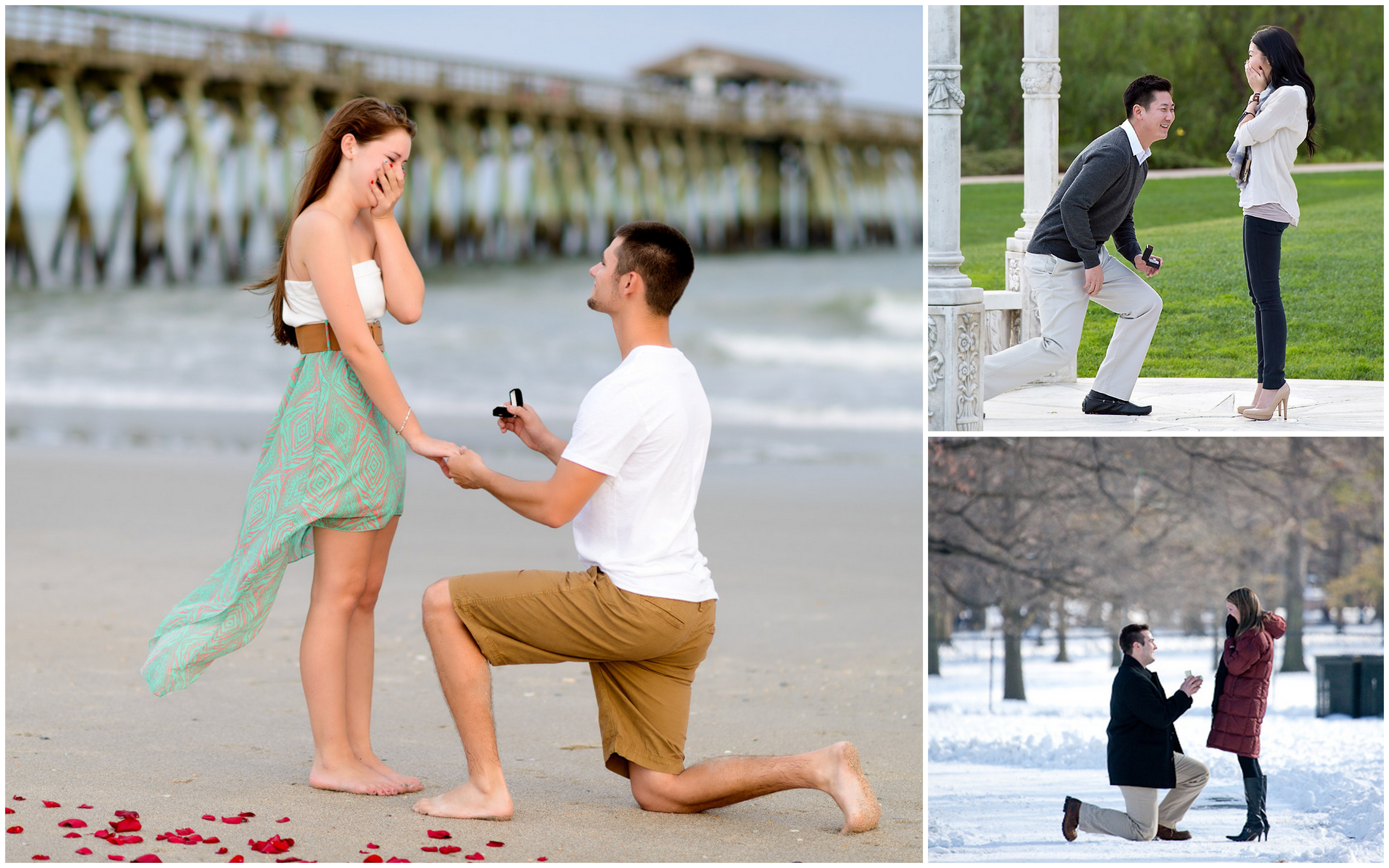winter engagement photo ideas chicago - Happy National Proposal Day Proposal Ideas Blog