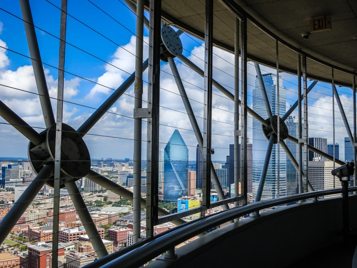 Dallas proposal idea at Reunion Tower
