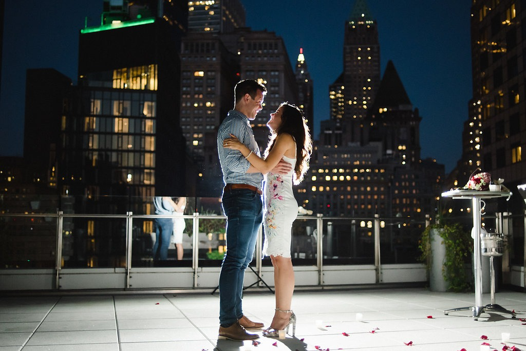 new york rooftop proposal idea