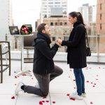 new york rooftop wedding proposal